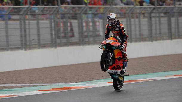 El motociclista Can Öncü, el ganador más joven del Mundial
