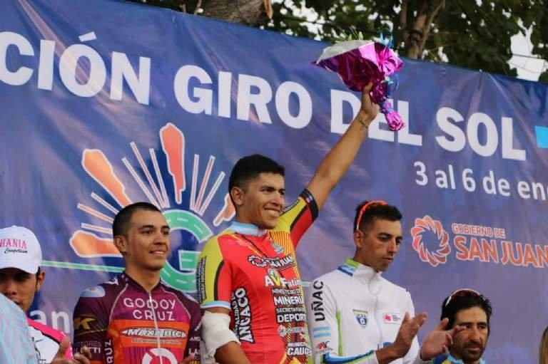 Nicolás Naranjo se adjudicó el Giro del Sol en San Juan