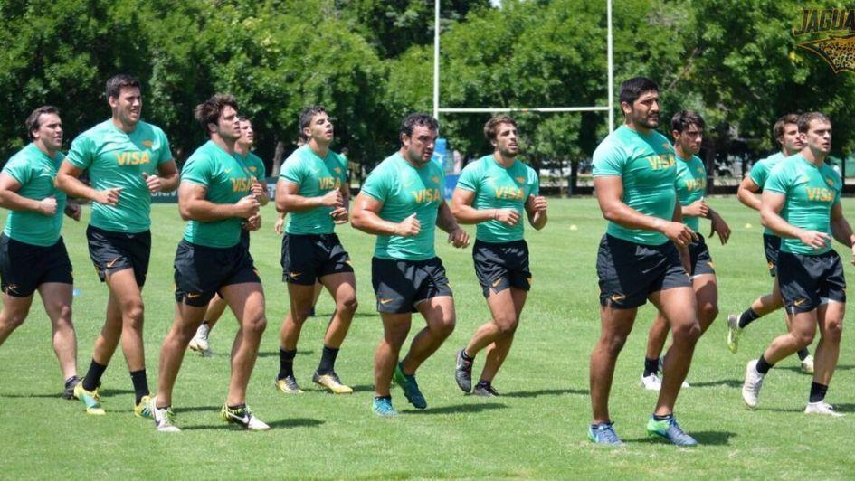 Miguel Bertranou está de pretemporada con Jaguares