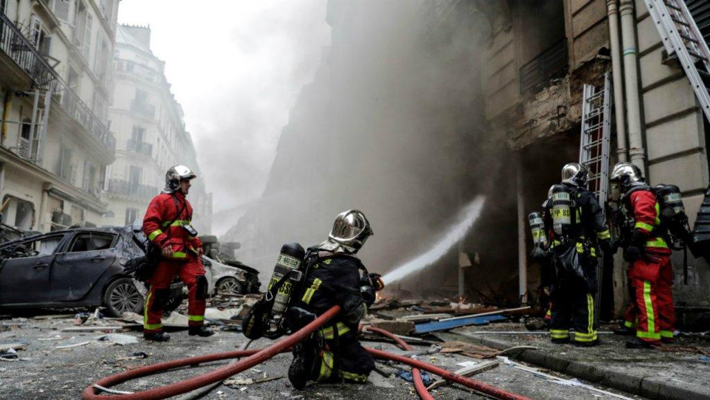 Al menos dos muertos por una explosión en París