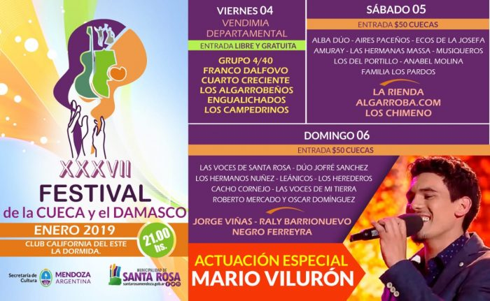 Comienza la temporada de festivales en Mendoza