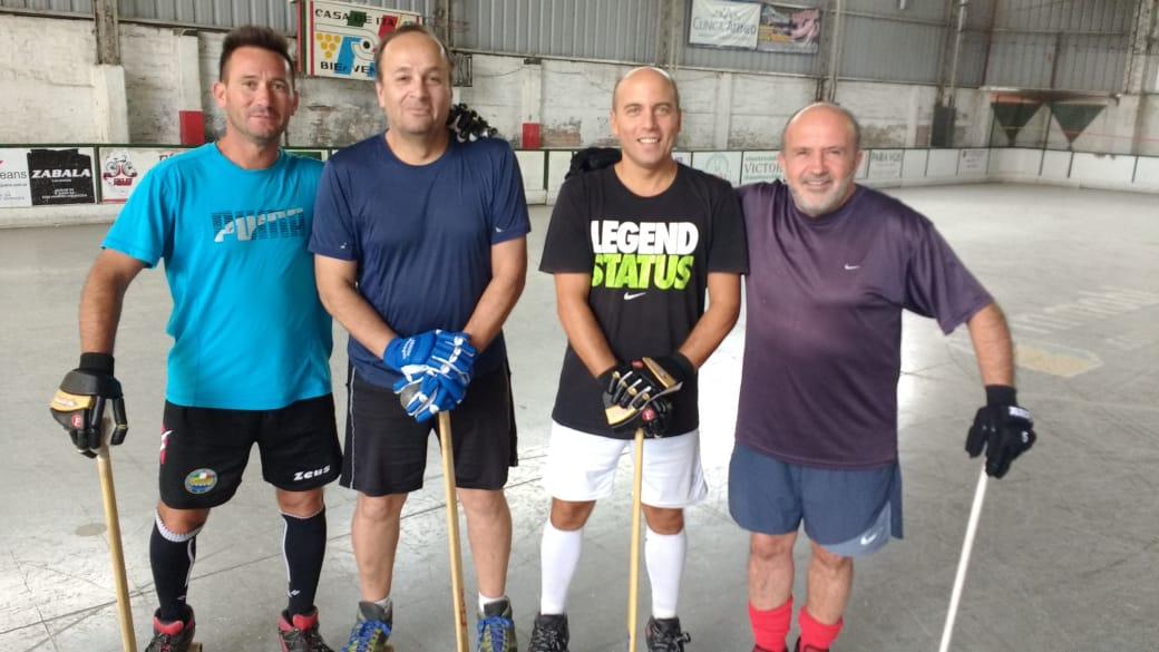 «El Chacarero» reúne a las leyendas vivas del hockey patín