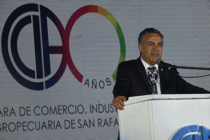 """""""Mendoza está mejor preparada para una economía sana»"""
