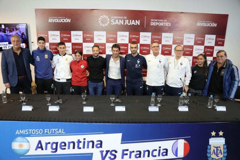 Argentina vs Francia: el mejor futsal se vive  en el Cantoni