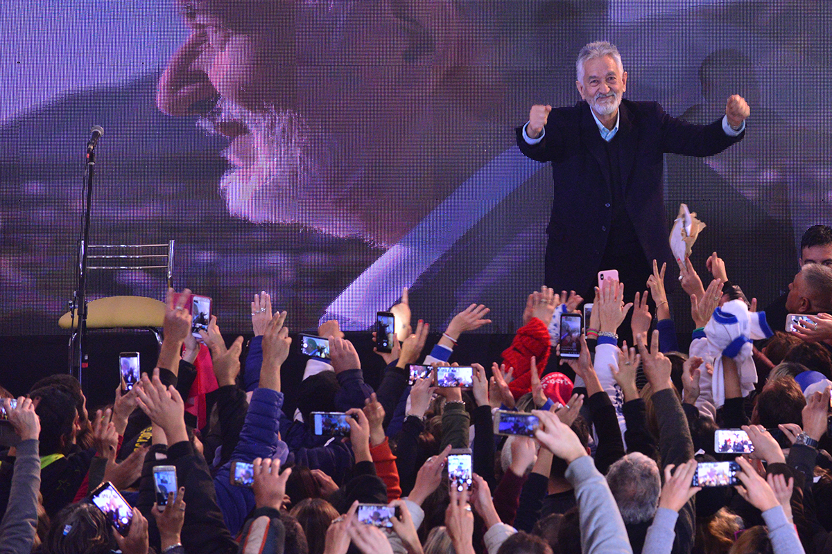 Histórico triunfo de Alberto Rodríguez Saá en San Luis
