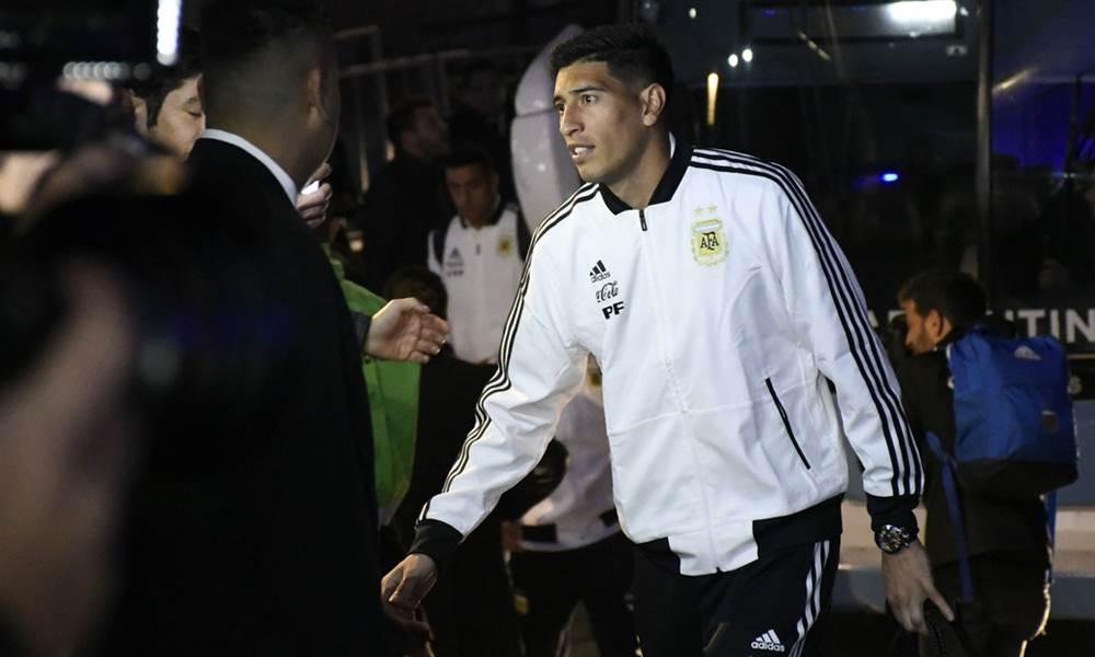 Andrada fue desafectado de la Selección Argentina