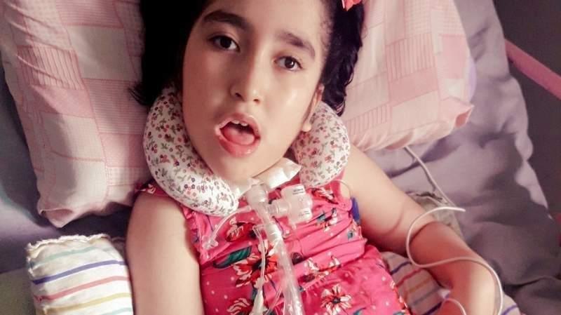 Carlita, la nena electrodependiente que sobrevivió al apagón
