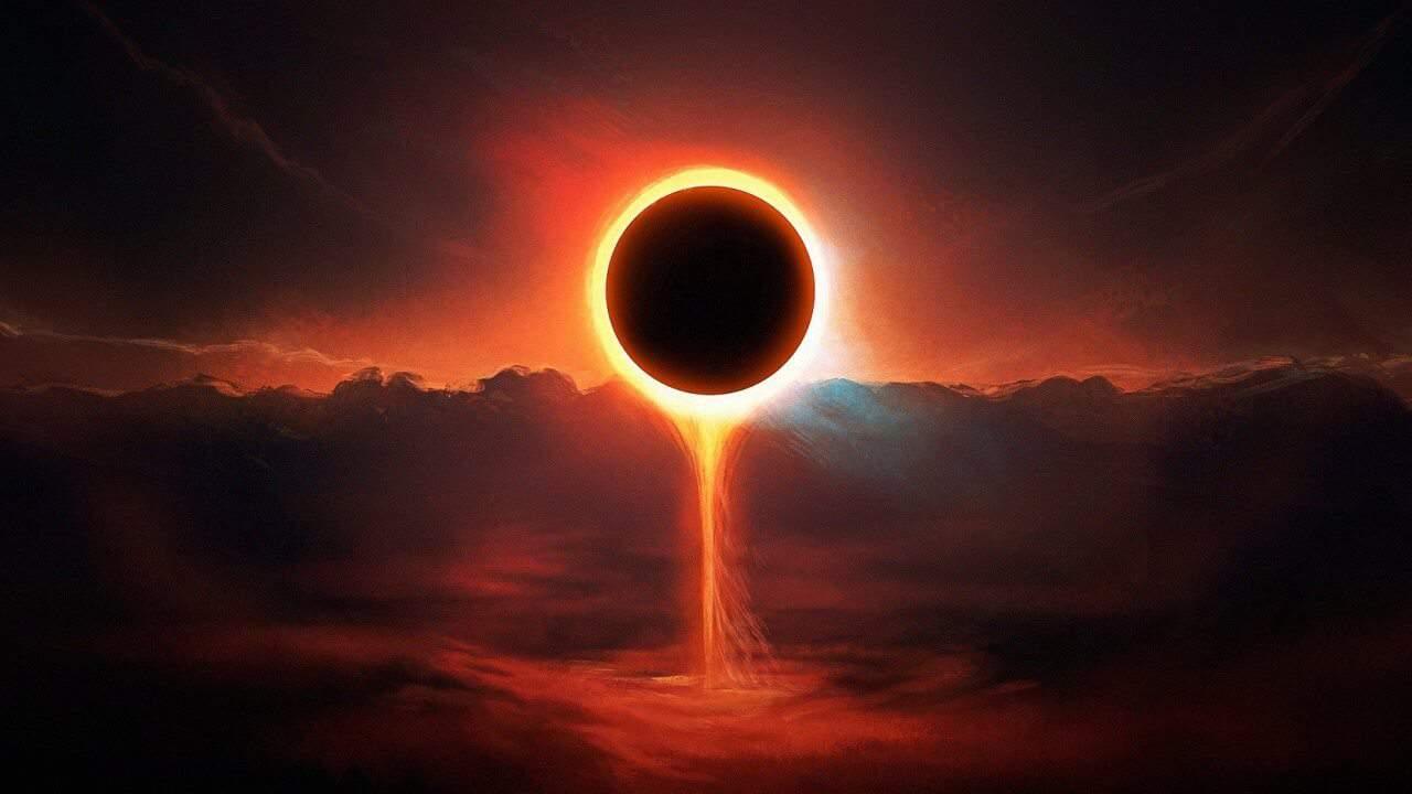 Furor en San Juan por el eclipse solar