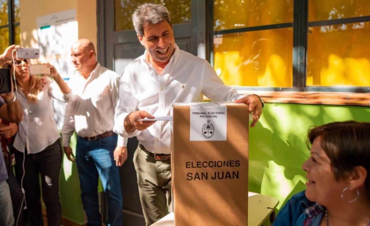 Uñac va por la reelección en San Juan