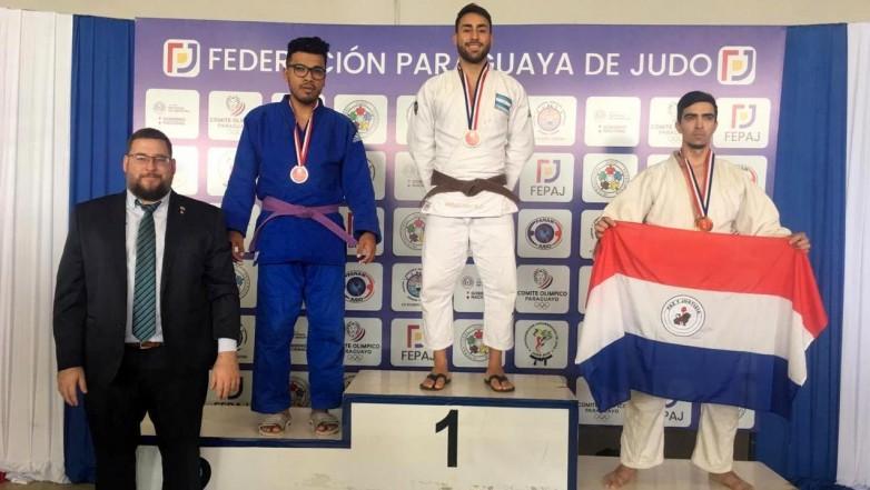 Judo: Karim Adarvez brilla en Argentina y viaja a Brasil