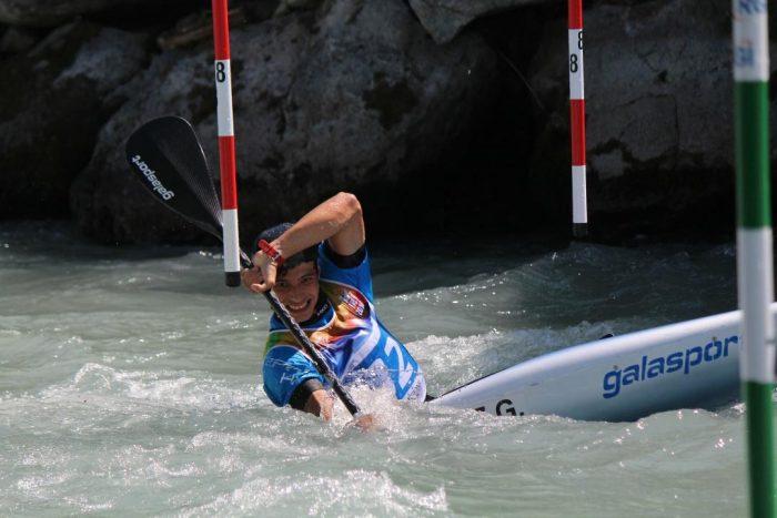 Gerónimo Cortez participará en el Mundial de Canotaje Slalom Junior y Sub-23