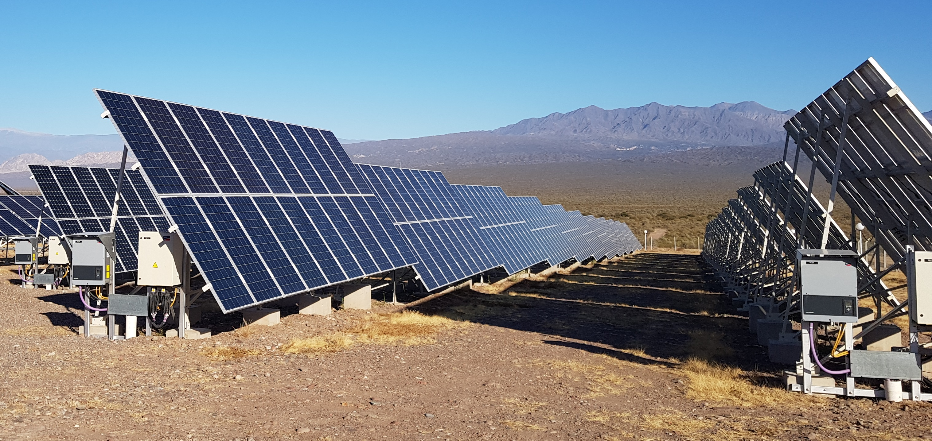 El parque solar de San Juan se conectó al sistema eléctrico nacional