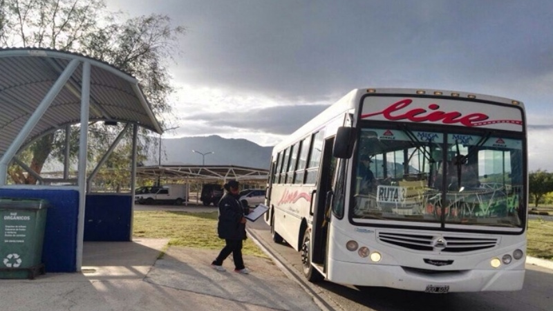 Se normalizó el servicio público de pasajeros en San Luis