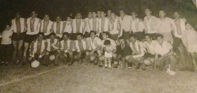 La primera vez de River Plate en Villa Mercedes fue en el año…