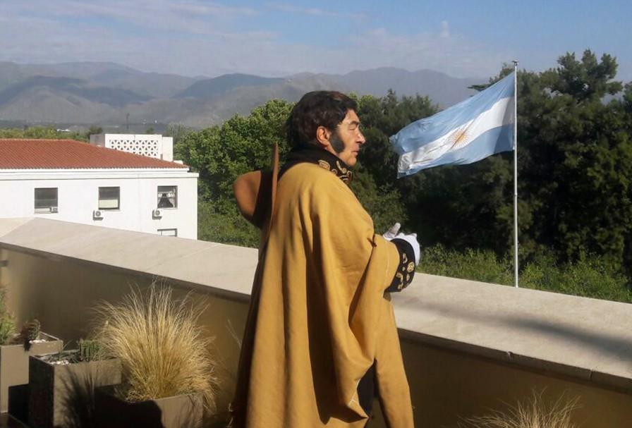 Homenaje a San Martín a 169 años de su fallecimiento