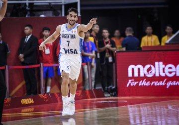 Facundo Campazzo es una de las figuras de la actual Selección Argentina de Básquet y que es pretendido por la NBA