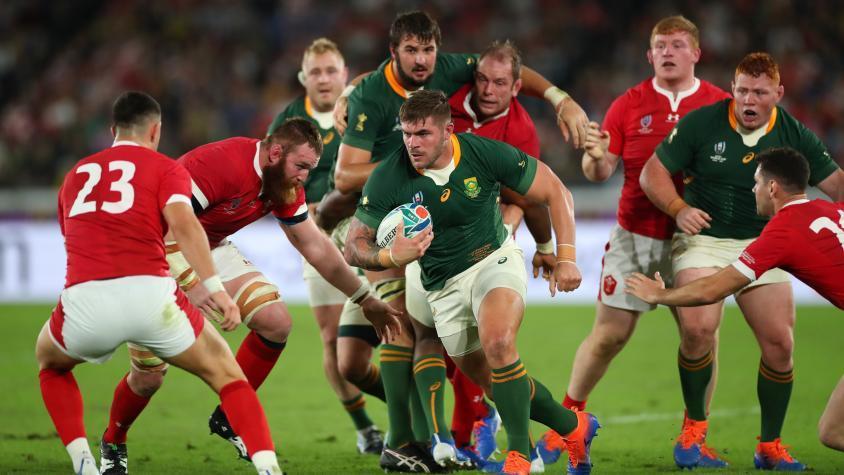 Sudáfrica derrotó a Gales y jugará la final contra Inglaterra del Mundial