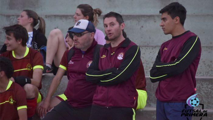 Marcelo Mescolatti definió al equipo Borravino de futsal