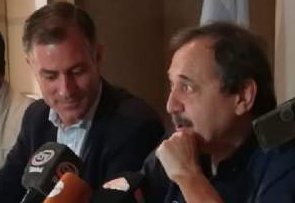 Alfonsín visitó San Luis para apoyar la candidatura a de Picco