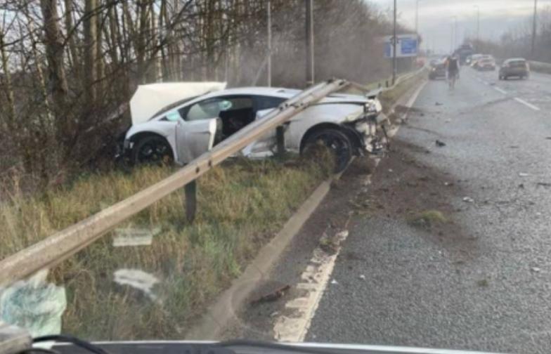 Tremendo accidente de Chiquito Romero en Inglaterra