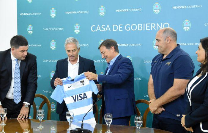 Presentaron «Los Pumas ante All Blacks» en Mendoza