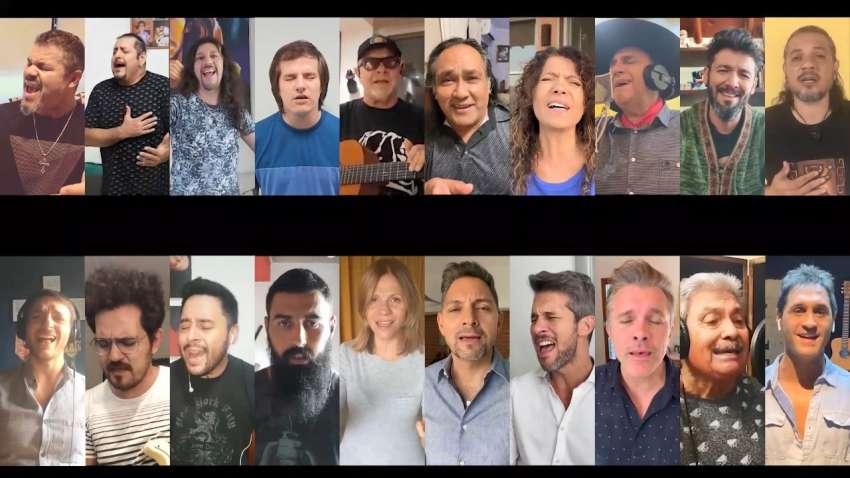 «Sólo le pido a Dios»: la música nos une en cuarentena