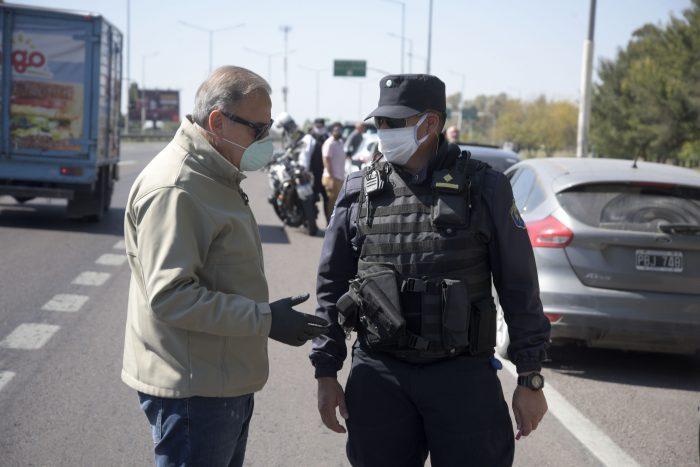 Refuerzan controles policiales por el Día del Estudiante