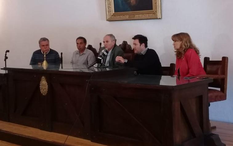 La gestión Rufeil «concentrada» en la salud de San Martín