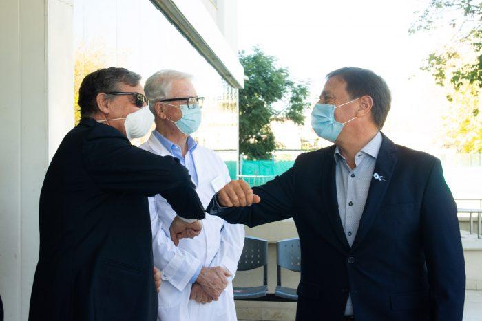 Inauguran la internación del Hospital Universitario
