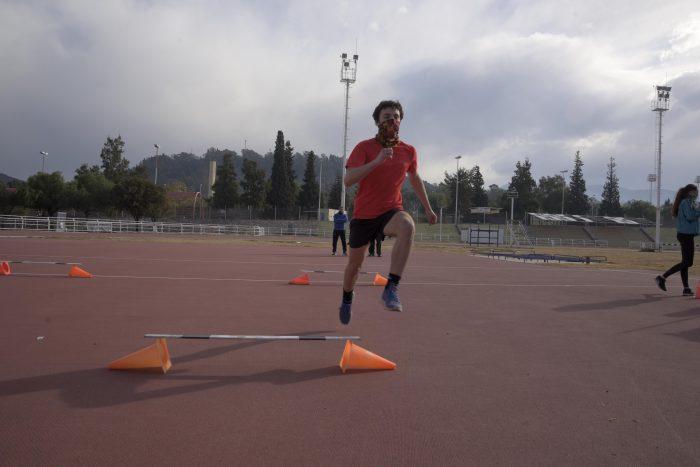 Atletas de la UNCuyo trabajan duro en Mendoza