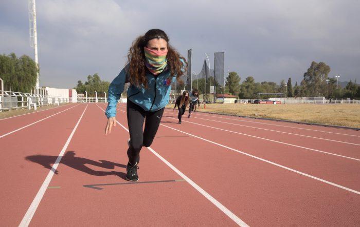 Comenzó la actividad en la Pista de Atletismo y Velódromo