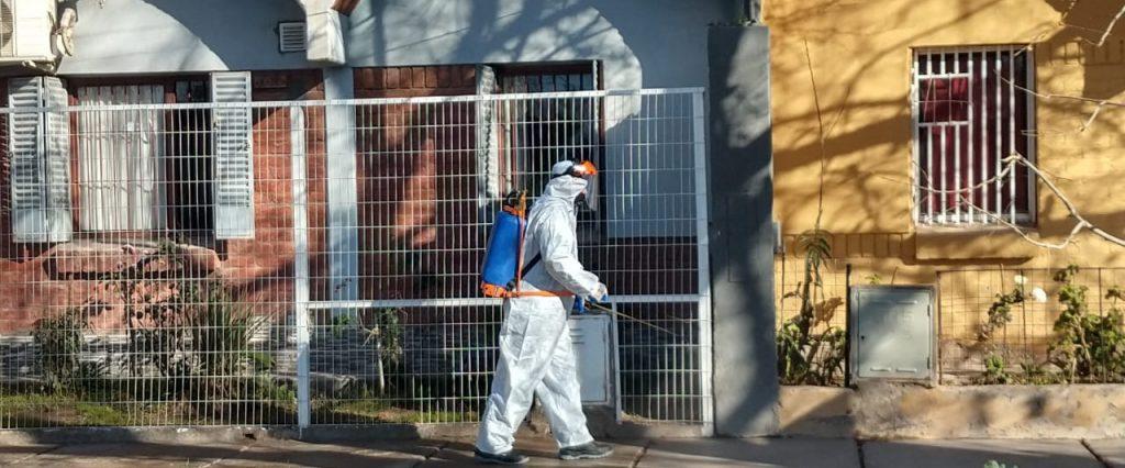 San Martín extrema las medidas de control y prevención