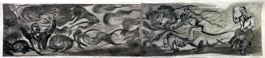 RATAS - Galería Virtual: el desenfreno de Candelaria Silvestro