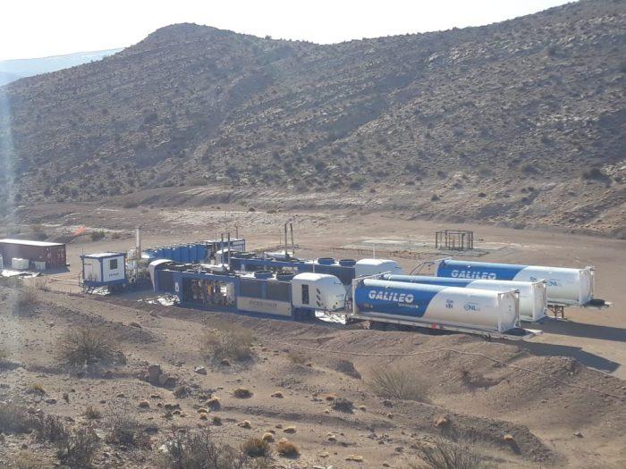 Emesa recuperó un yacimiento de gas para energía eléctrica